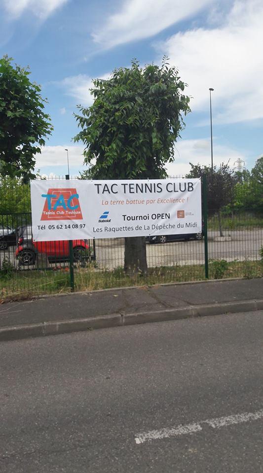 Banderole du TAC Tennis