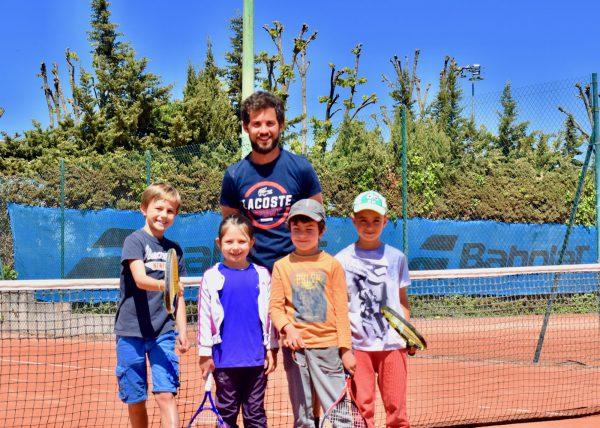 Équipe pédagogique Simon Vouhé, professeur du TAC Tennis