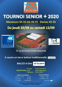 TOURNOI SENIOR+ 2020