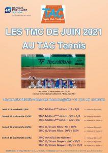 Les TMC du mois de Juin au TAC